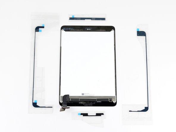 iPad Display Assembly 4 Pc. Adhesive Application