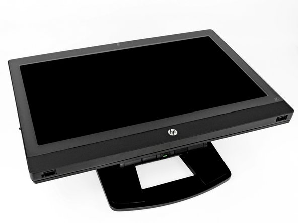 Here it is, the HP Z1 workstation. Collapsed down, the Z1 folds flat for easy-to-access component repairs.