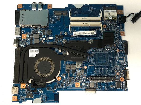 Acer TravelMate P653-V-6882 Mainboard Replacement