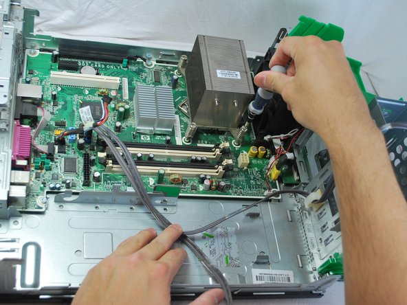 HP rp5700 Repair Central Processing Unit(CPU) Replacement