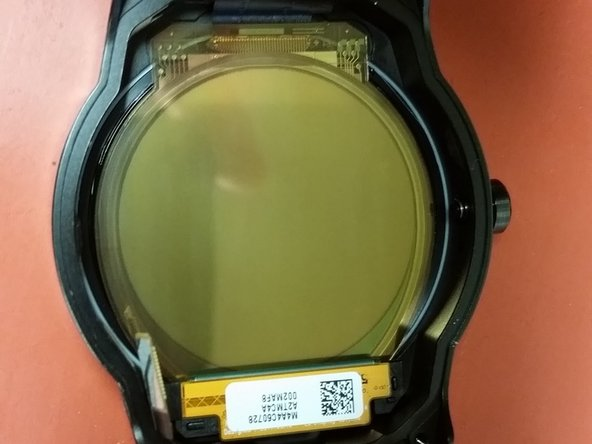 """Pictures of the front and back of the 1.3"""" P-OLED."""