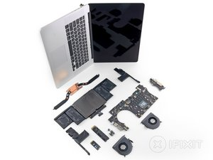 "MacBook Pro 15"" Retina Display Late 2013 Teardown"