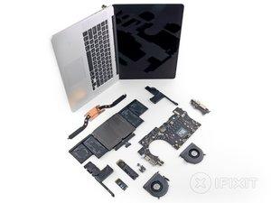 """Smontaggio MacBook Pro Retina Display da 15"""" versione fine 2013"""