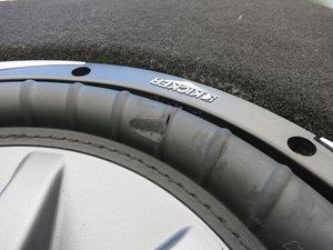 Subwoofer Rubber Surround Repair