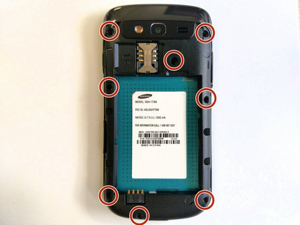 Samsung Galaxy S Blaze Frame Replacement
