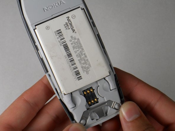 Disassembling Nokia 3395 Battery