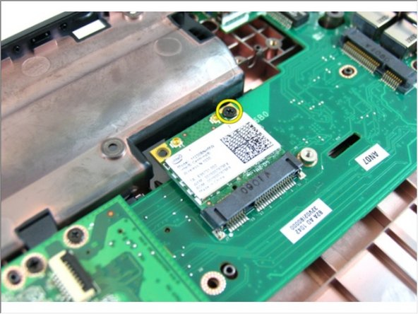 Dell Vostro 3450 Wireless Local Area Network (WLAN) Card Replacement