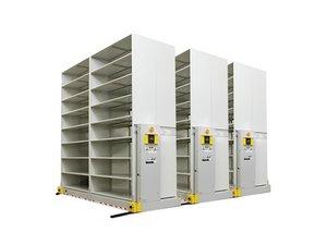 High-Density Mobile Shelving Repair
