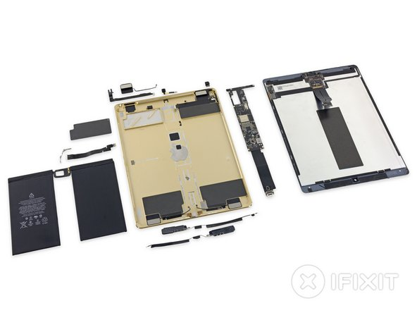 iPad Pro Repairability Score: 3 out of 10 (10 is easiest to repair)