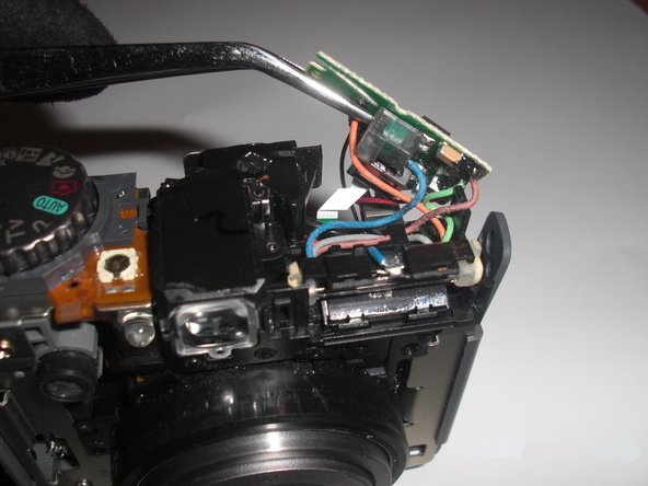 Canon PowerShot A590 IS Flash Assembly Replacement