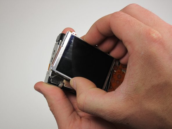 Canon Powershot SD550 LCD Screen Replacement