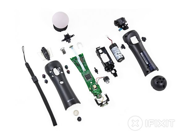 PlayStation Move Repairability: 8 out of 10 (10 is easiest to repair)