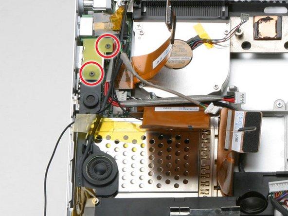 "PowerBook G4 Aluminum 15"" 1-1.5 GHz Speakers Replacement"
