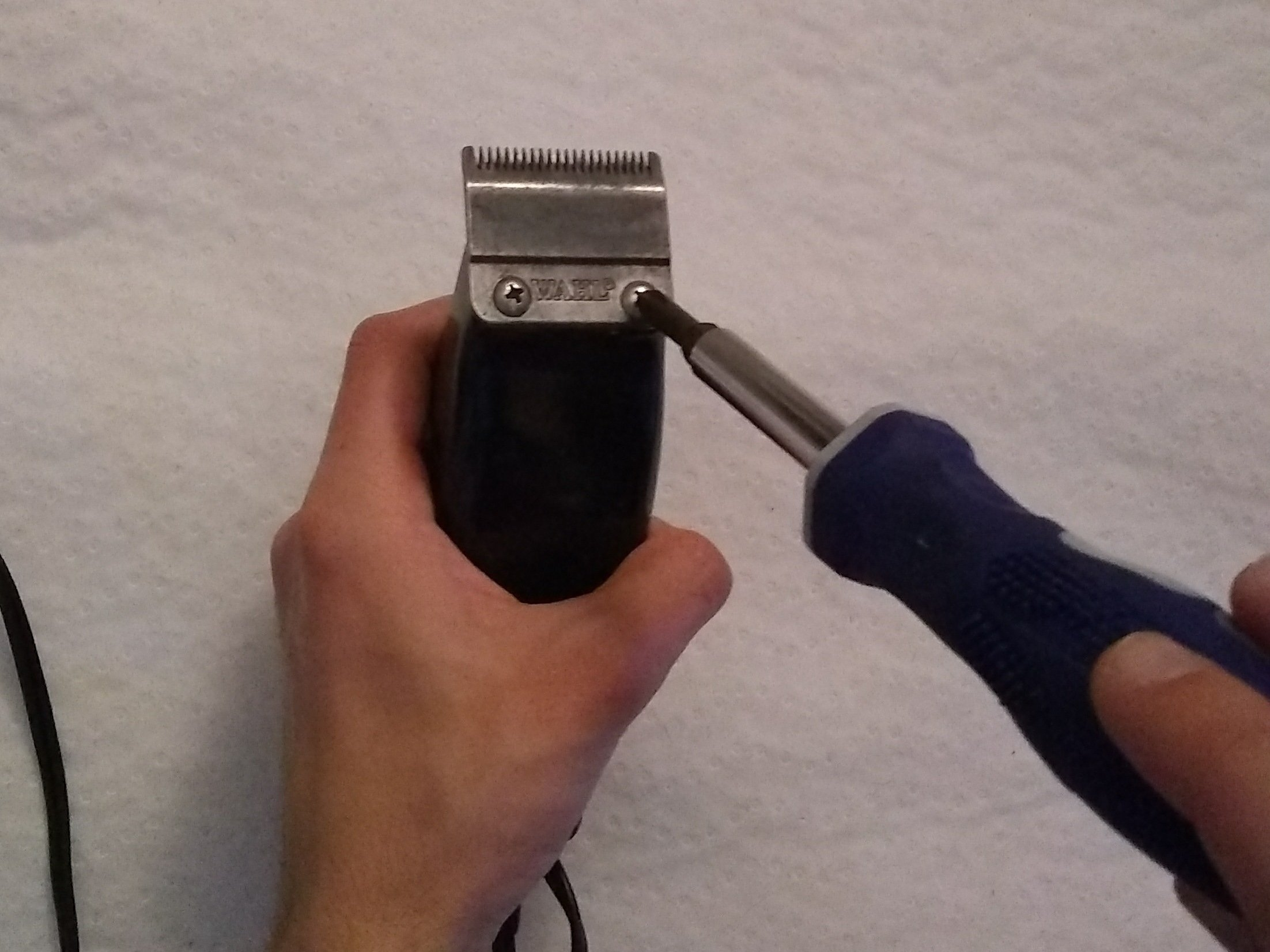 Under New Management Wahl Clipper Blade Clean and Sharpening Same Day Return