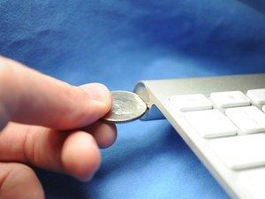 Reemplazo de la batería del teclado inalámbrico de Apple