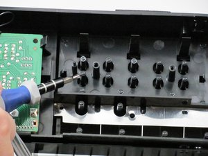 Onkyo TX-800 Button Pins Repair