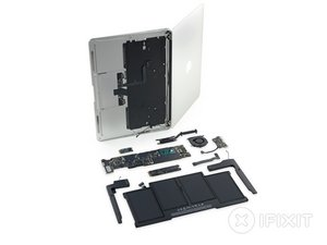 "MacBook Air 13"" Anfang 2015 Teardown"