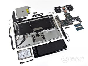 "MacBook Pro 15"" Unibody Mid 2010 Teardown"