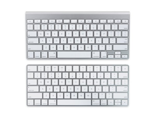 Comparison time! Let's take a look at how the Magic Keyboard stacks up against the 3rd generation Wireless Keyboard.