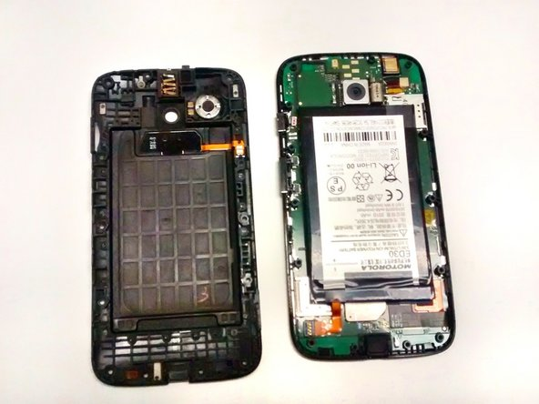 When you remove the back inner cover, the battery will be exposed on the motherboard. The label is upside down, so do not be alarmed.