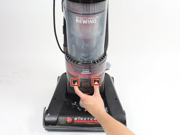 Hoover WindTunnel 2 Rewind HEPA Filter Replacement