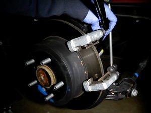 Rear Brake Pads and Rotor