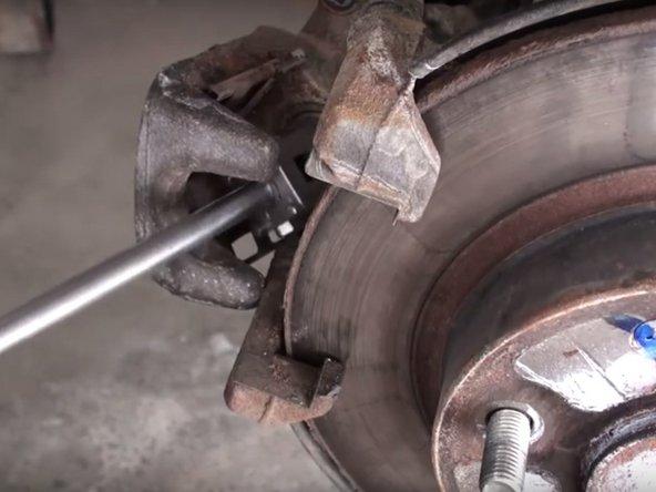 2006-2011 Honda Civic Rear Brake Pads Replacement