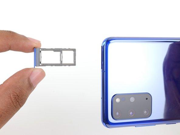Samsung Galaxy S20 Plus SIM/MicroSD Card Tray Replacement