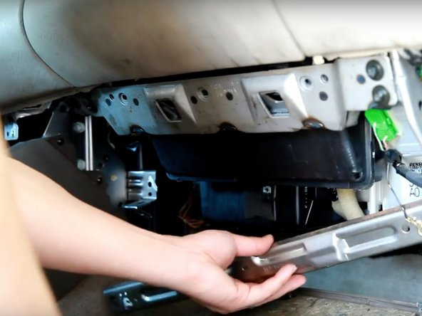 1998-2002 Honda Accord Cabin Air Filter Replacement