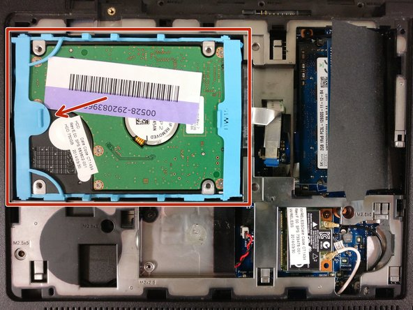 HP Envy m6-n010dx Hard Drive Replacement
