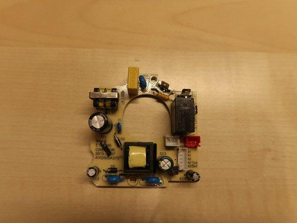 Milchaufschäumer Ambiano (Aldi) - Tausch Transistor Motor