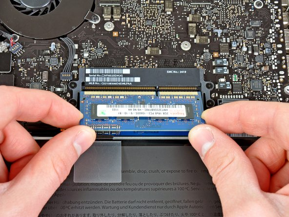 """MacBook Pro 13"""" Unibody eind 2011 Vervanging van de RAM"""