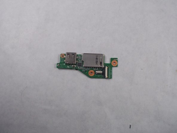 Acer Chromebook C720-2827 SD Card Reader/USB Port Replacement
