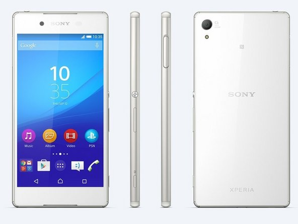How to repair backlight in Xperia Z3 Plus D6555