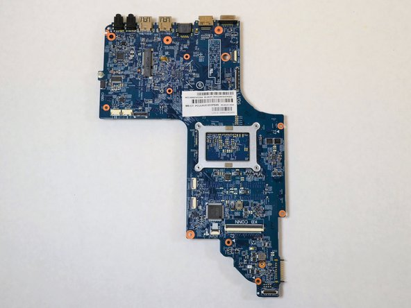 HP Envy dv7t-7200 Motherboard Replacement