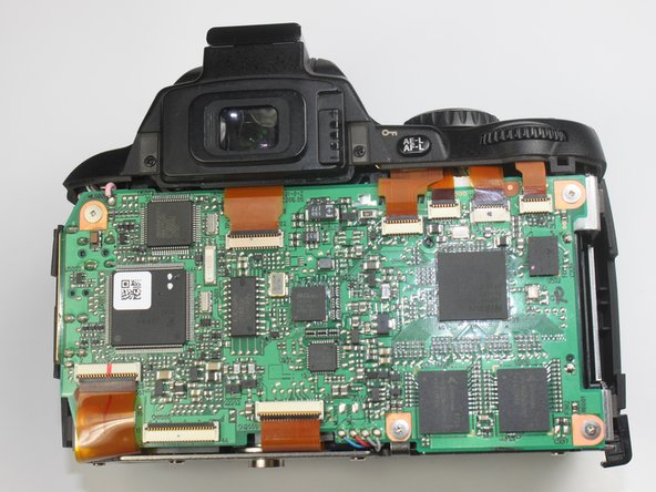 Nikon D40 Back Cover Replacement