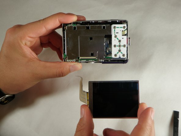Sanyo VPC S1275 LCD Screen Replacement