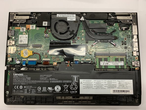 Lenovo ThinkPad Yoga 260 Motherboard Replacement