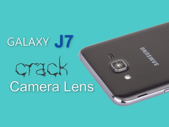 Samsung Galaxy J7 Camera Glass Lens (video) Replacement