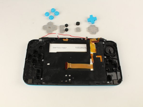 New Nintendo 2DS XL Front Buttons Replacement