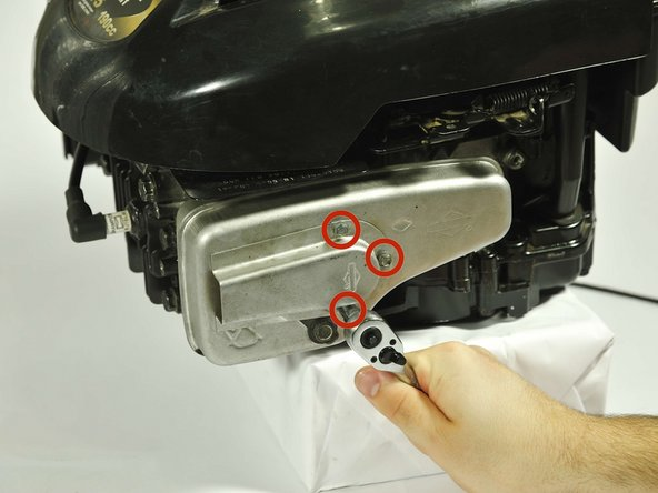 Briggs and Stratton 675 Series Repair Muffler Replacement