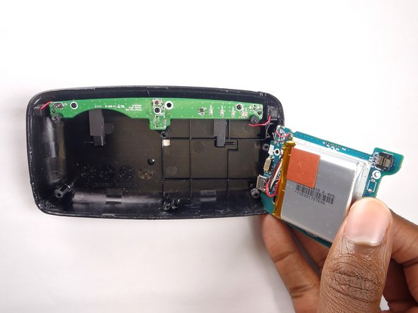 Remove the motherboard from the device by lifting it up from the back plate.