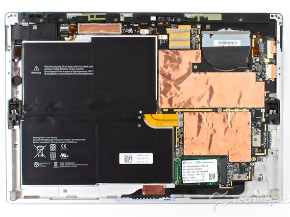Microsoft Surface Pro 3 SSD  Replacement Dodgy Style