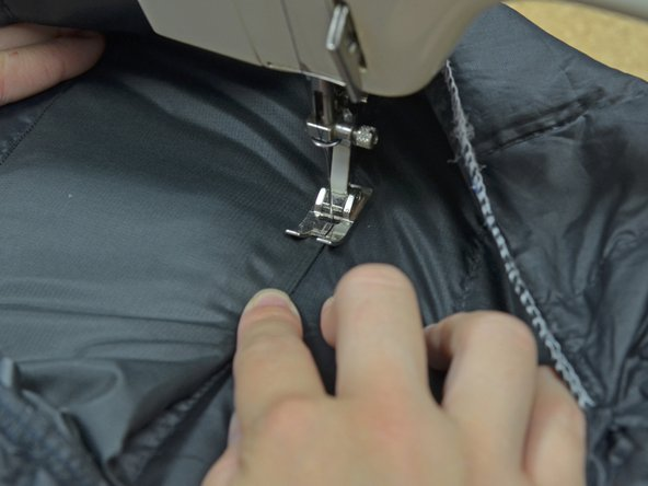Continue sewing.