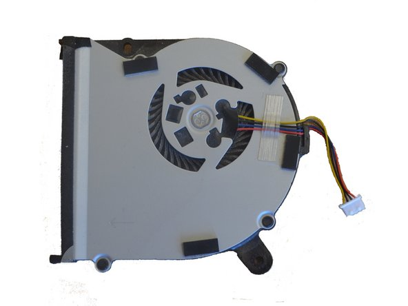 ASUS X502CA Fan Replacement & Cleaning