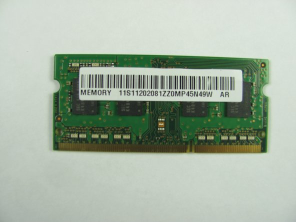 Lenovo Y50 Touch RAM Replacement