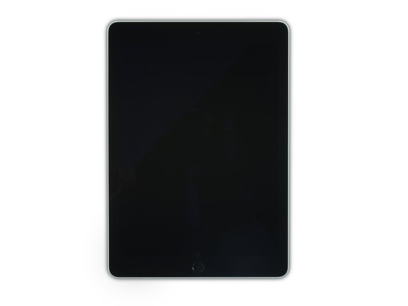 While the iPad looks uniform from the outside, there are delicate components under certain portions of the front glass. To avoid damage, only heat and pry in the areas described in each step.