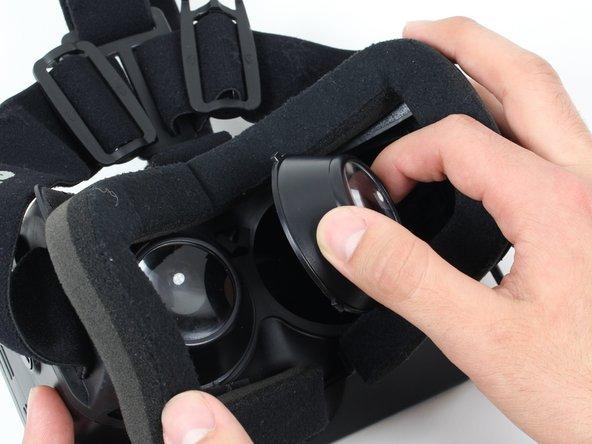 Oculus Rift DK1 Lens Replacement