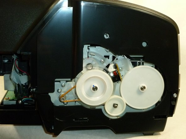 Both side housings are attached by the same type of mechanism.