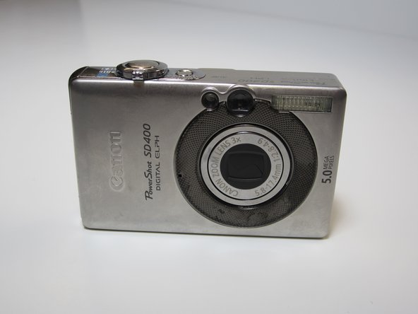 Canon PowerShot SD400 LCD Replacement